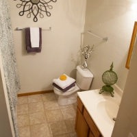Providence Court Bathroom - Apartments in Columbia MO with utilities included