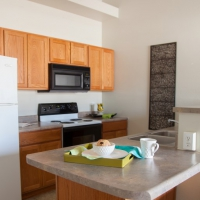Providence Court Kitchen - Apartments in Columbia MO with utilities included